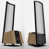 Martin Logan  	Spire, bird's eye maple