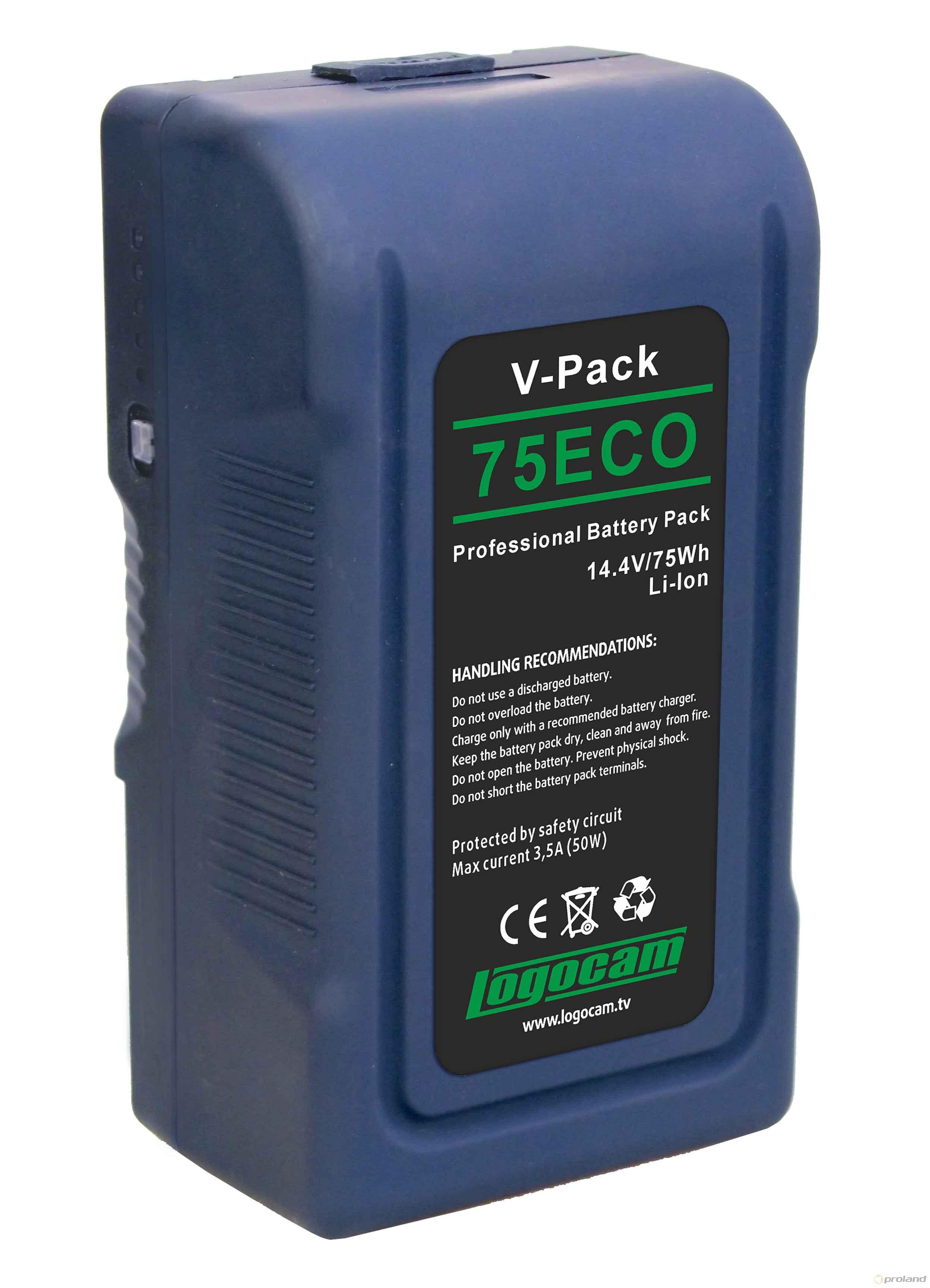 Logocam V-Pack 75 ECO